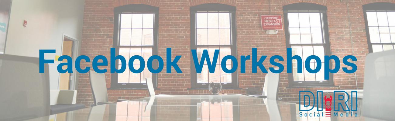 facebook seminar & facebook workshop