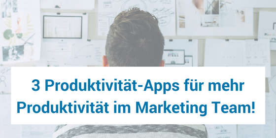 Produktivität apps für marketing teams