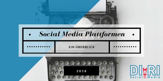 social media plattformen überblick