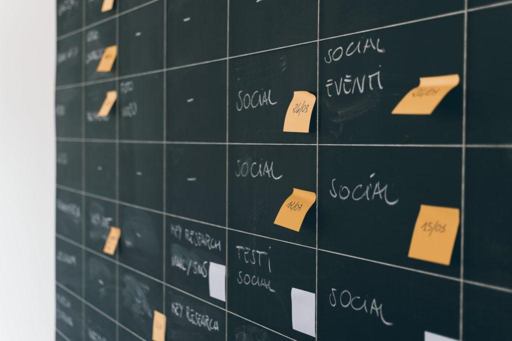social media unternehmen redaktionsplan