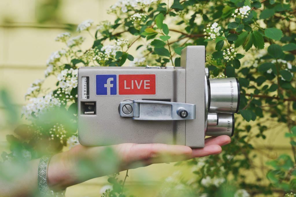 live video als social media content idee