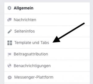 facebook tabs bearbeiten