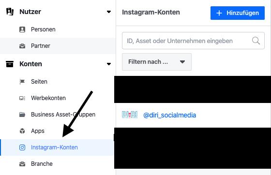 Facebook mit Instagram verbinden PC
