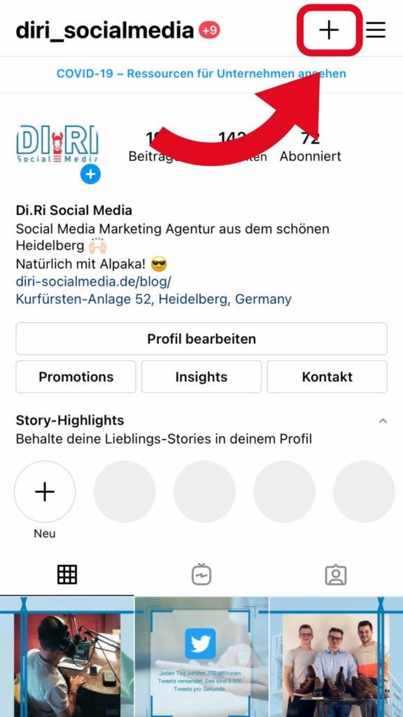 Instagram Guides erstellen